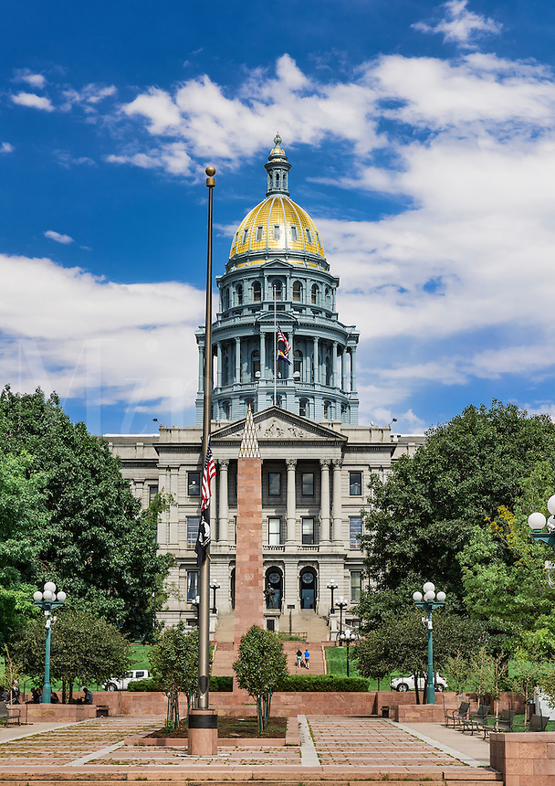 Colorado State Capitol, Denver, Colorado, USA