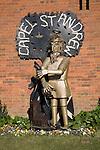 Paul Richardson millennium sculpture Capel St Andrew, Suffolk, England