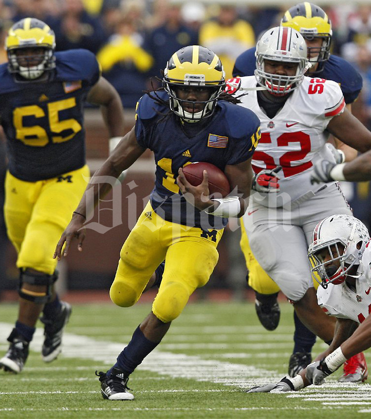 Ohio State University vs University of Michigan in Ann Arbor Nov 2011. (Columbus Dispatch photo)