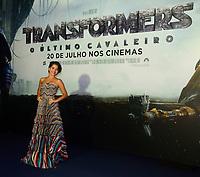 SÃO PAULO,SP, 10.07.2017 - PREMIERE-SP - A atriz norte-americana Isabela Moner durante premiere do filme Transformers - O Último Cavaleiro no Shopping JK Iguatemi na região sul de São Paulo nesta segunda-feira, 10. (Foto: Eduardo Martins/Brazil Photo Press)