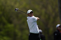 Rory McIlroy (NIR) on the 12th tee during the 3rd round at the PGA Championship 2019, Beth Page Black, New York, USA. 18/05/2019.<br /> Picture Fran Caffrey / Golffile.ie<br /> <br /> All photo usage must carry mandatory copyright credit (© Golffile | Fran Caffrey)