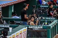 Acciones, durante partido3 de beisbol entre Naranjeros de Hermosillo vs Mayos de Navojoa. Temporada 2016 2017 de la Liga Mexicana del Pacifico.<br /> © Foto: LuisGutierrez/NORTEPHOTO.COM