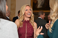 New York City, NY - MAY 23: Aly Wagner (center), Lead WWC Match Analyst, attends the Fox Sports FIFA Women's World Cup Send-off at the Consulate General of France in New York City. (Photo by Anthony Behar/Fox Sports/PictureGroup)