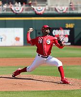 Vladimir Gutierrez - Cincinnati Reds 2020 spring training (Bill Mitchell)