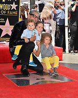 Jeff Goldblum, Emilie Livingston, River Goldblum &amp; Charlie Goldblum at the Hollywood Walk of Fame Star Ceremony honoring actor Jeff Goldblum, Los Angeles, USA 14 June 2018<br /> Picture: Paul Smith/Featureflash/SilverHub 0208 004 5359 sales@silverhubmedia.com