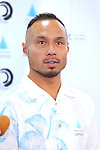 Masatoshi Ono, <br /> AUGUST 4, 2016 - Surfing : <br /> Nippon Surfing Association holds a press conference after it was decided that <br /> the sport of surfing would be added to the Tokyo 2020 Summer Olympic Games on August 3rd, 2016 <br /> in Tokyo, Japan. <br /> (Photo by AFLO SPORT)