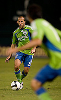 Peter Vagenas. The Seattle Sounders defeated DC United, 2-1, to win the 2009 Lamr Hunt U.S. Open Cup at RFK Stadium in Washington, DC.