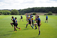 Bath Rugby players in action. Bath Rugby pre-season training on August 8, 2018 at Farleigh House in Bath, England. Photo by: Patrick Khachfe / Onside Images