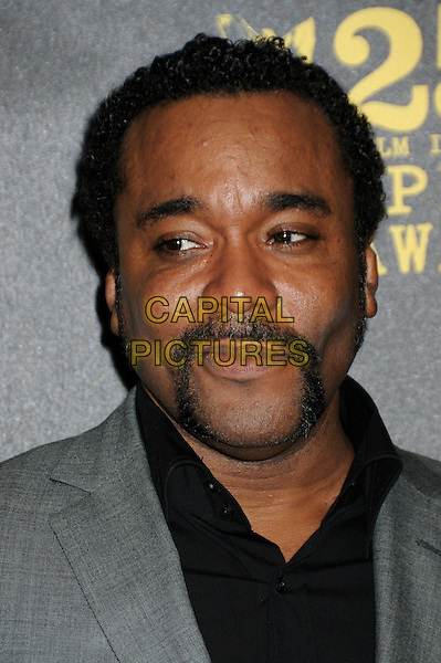 LEE DANIELS .25th Annual Film Independent Spirit Awards - Press Room held at the Nokia Event Deck at L.A. Live, Los Angeles, California, USA, 5th March 2010..indie portrait headshot grey gray suit handlebar moustache mustache black facial hair .CAP/ADM/BP.©Byron Purvis/AdMedia/Capital Pictures.