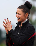 Catherine Zeta-Jones during the Mission Hills Start Trophy at the Mission Hills Golf Resort on October 31, 2010 in Haikou, China. The Mission Hills Star Trophy is Asia's leading leisure liflestyle event and features Hollywood celebrities and international golf stars. Photo by Victor Fraile