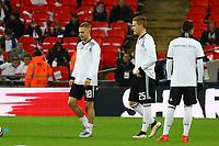 Joshua Kimmich (Deutschland, Germany), Marcel Halstenberg (Deutschland Germany) - 10.11.2017: England vs. Deutschland, Freundschaftsspiel, Wembley Stadium