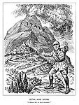 """Etna - and After. """"I declare this an open mountain!"""" (a fascist soldier surrenders Rome after the volcanic Italy erupts into Revolt)"""