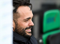 20191211 – OOSTENDE , BELGIUM : head coach Daniel Poyatos Algaba of Real Madrid pictured during a soccer game between Club Brugge KV and Real Madrid on the sixth and last matchday in group A of the UEFA Youth League - Champions League season 2019-2020 , thuesday 11 th December 2019 at the Versluys Arena in Oostende , Belgium . PHOTO SPORTPIX.BE | DAVID CATRY