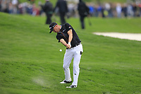 Justin Thomas (USA) on the 18th fairway during the final round of the Waste Management Phoenix Open, TPC Scottsdale, Scottsdale, Arisona, USA. 03/02/2019.<br /> Picture Fran Caffrey / Golffile.ie<br /> <br /> All photo usage must carry mandatory copyright credit (&copy; Golffile | Fran Caffrey)