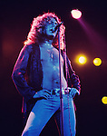 Led Zeppelin 1977 Robert Plant.© Chris Walter.
