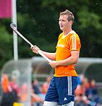 DEN HAAG - Floris Wotelboer in Oranje, tijdens de trainingswedstrijd Nederland-Argentinie (1-2). COPYRIGHT KOEN SUYK