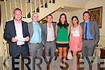 Listowel Celtic Celebration : Attending the Listowel Celtic Soccer Club's 50th Jubilee Social at the Listowel Arms Hotel on Saturdy night last were Aengus Fitzgerald, Tom Rahilly, Conor O'Neill, Noreen Kirwin, Joanne Carmody & Sheamus Keane.
