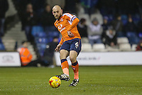 Scott Cuthbert of Luton Town during the Sky Bet League 2 match between Luton Town and Cheltenham Town at Kenilworth Road, Luton, England on 31 January 2017. Photo by David Horn / PRiME Media Images