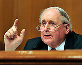"United States Senator Carl Levin (Democrat of Michigan), Chairman, U.S. Senate Permanent Subcommittee on Investigations questions a witness during the committee's fourth hearing on ""Wall Street and the Financial Crisis: The Role of Investment Banks"" using Goldman Sachs as a case study on Tuesday, April 27, 2010. .Credit: Ron Sachs / CNPFabrice P. Tourre, Executive Director, Structured Products Group Trading, The Goldman Sachs Group, Inc. (GSI), departs after giving testimony before the United States Senate Permanent Subcommittee on Investigations hearing on ""Wall Street and the Financial Crisis: The Role of Investment Banks"" using Goldman Sachs as a case study on Tuesday, April 27, 2010. .Credit: Ron Sachs / CNP.(RESTRICTION: NO New York or New Jersey Newspapers or newspapers within a 75 mile radius of New York City)"