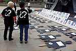 Colombia commemorates the international day of disappeared people
