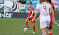 Portland, Oregon - Sunday September 11, 2016: Portland Thorns FC defender Meghan Klingenberg (25) during a regular season National Women's Soccer League (NWSL) match at Providence Park.
