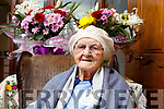 102 year old Catherine Stack from Milltown and Catherine celebrated her birthday on March 1st.
