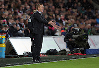 Swansea manager Garry Monk during the Barclays Premier League match between Swansea City and Bournemouth at the Liberty Stadium, Swansea on November 21 2015