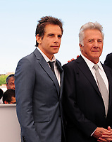 www.acepixs.com<br /> <br /> May 21 2017, Cannes<br /> <br /> (L-R) Actors Ben Stiller and Dustin Hoffman at 'The Meyerowitz Stories' photocall during the 70th annual Cannes Film Festival at Palais des Festivals on May 21, 2017 in Cannes, France. <br /> <br /> By Line: Famous/ACE Pictures<br /> <br /> <br /> ACE Pictures Inc<br /> Tel: 6467670430<br /> Email: info@acepixs.com<br /> www.acepixs.com