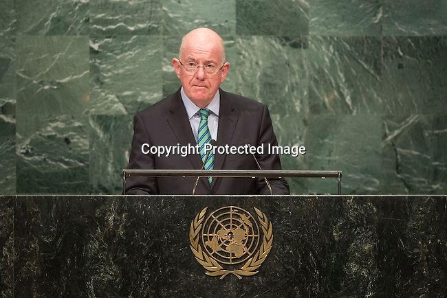Ireland<br /> H.E. Mr. Charles Flanagan<br /> Minister for Foreign Affairs and Foreign Trade<br /> <br /> <br /> General Assembly Seventy-first session 20th plenary meeting<br /> <br /> General Debate
