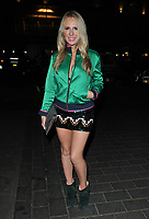 Naomi Isted at the Embargo App launch party, Cuckoo Club, Swallow Street, London, England, UK, on Thursday 09 November 2017.<br /> CAP/CAN<br /> &copy;CAN/Capital Pictures