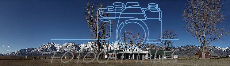 The Dangberg Historic Home Ranch State Park in Minden, Nev. is seen on Friday, March 11, 2011..Photo by Cathleen Allison