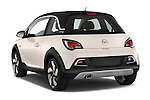 Car pictures of rear three quarter view of a 2015 Opel Adam Rocks 3 Door Hatchback angular rear