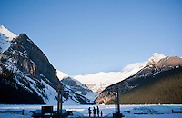 Lake Louise. Rockies, Alberta, Canada.
