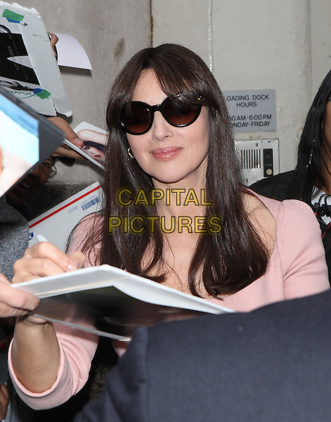 NEW YORK, NY - NOVEMBER 5: Monica Bellucci seen in New York City on November 5, 2015.  <br /> CAP/MPI/DC<br /> &copy;DC/MPI/Capital Pictures