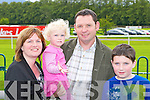 Sheila, Lucy, Michael and Brian Courtney Knocknagree at the family day out at the Killarney races on Monday..