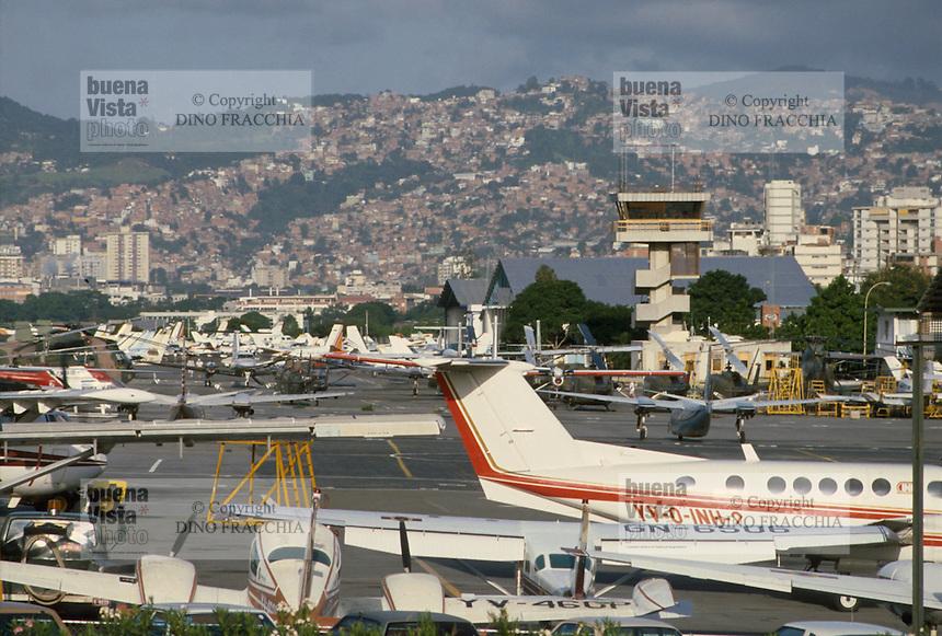 - the Caracas airport....- l'aeroporto di Caracas
