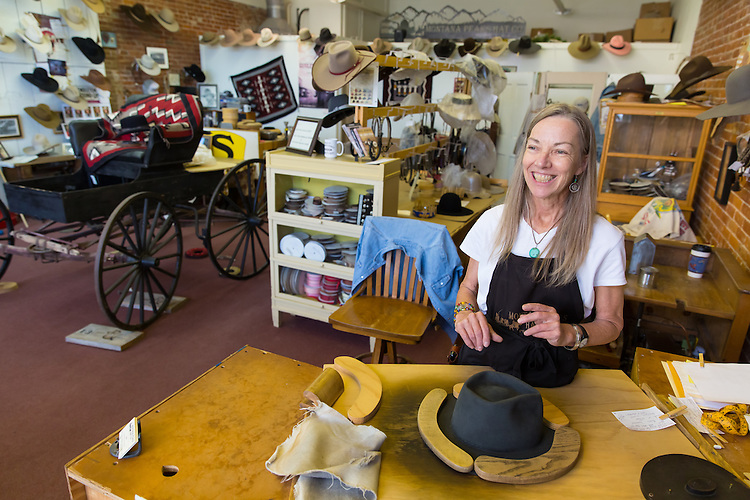 Montana Peaks Hat Company in Pendleton, Oregon