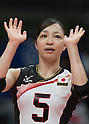 Arisa Sato (JPN),<br /> AUGUST 8, 2016 - Volleyball : <br /> Women's Preliminary Pool A <br /> between Japan 3-0 Cameroon <br /> at Maracanazinho <br /> during the Rio 2016 Olympic Games in Rio de Janeiro, Brazil.<br /> (Photo by Enrico Calderoni/AFLO SPORT)