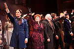Stephanie J. Block, Chita Rivera, Jim Norton, Will Chase, Gregg Edelman during the Broadway Opening Night Performance Curtain Call for 'The Mystery of Edwin Drood' at Studio 54 in New York City on 11/13/2012