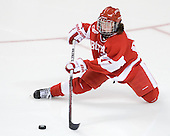 Catherine Ward (BU - 17) - The Boston College Eagles defeated the Boston University Terriers 2-1 in the opening round of the Beanpot on Tuesday, February 8, 2011, at Conte Forum in Chestnut Hill, Massachusetts.