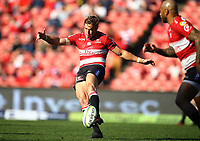 Andries Coetzee of the Emirates Lions during the Super Rugby quarter-final match between the Emirates Lions and the Jaguares at the Emirates Airlines Park Stadium,Johannesburg, South Africa on Saturday, 21 July 2018. Photo: Steve Haag / stevehaagsports.com