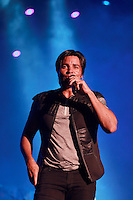 MIAMI, FL - AUGUST 3, 2012: Chayanne during the Gigant3s concert featuring, Marc Anthony, Chayanne and Marco Anotonio Solis at the American Airlines Arena in Miam, Florida. August 3, 2012. &copy;&nbsp;Majo Grossi/MediaPunch Inc. /NortePhoto.com<br />