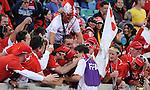 Fussball WM2010 Vorrunde: Spanien - Schweiz