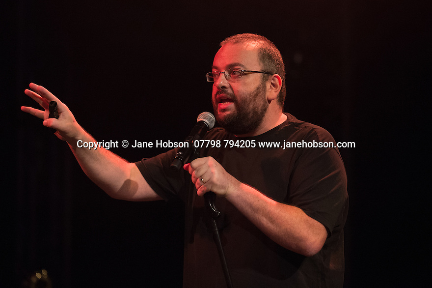 Edinburgh, UK. 02.08.2014. The Pleasance hosts its press launch in its 30th anniversary year on the Fringe. Picture shows: Comedian David Trent. Photograph © Jane Hobson,