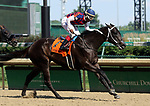 June 29, 2019 : Magic Dance (#7, Ricardo Santana Jr.) wins the Debutante Stakes at Churchill Downs, Louisville, Kentucky. Trainer Steven M. Asmussen, Owner Three Chimneys Farm LLC (Goncalo B. Torrealba). By More Than Ready x Magical World (Distorted Humor)  Mary M. Meek/ESW/CSM
