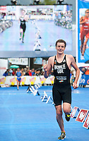 11 JUL 2009 - KITZBUHEL, AUT - Alistair Brownlee - ITU World Championship Series Mens Triathlon (PHOTO (C) NIGEL FARROW)