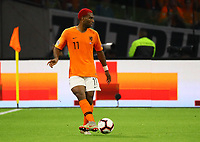 Ryan Babel (Niederlande) - 13.10.2018: Niederlande vs. Deutschland, 3. Spieltag UEFA Nations League, Johann Cruijff Arena Amsterdam, DISCLAIMER: DFB regulations prohibit any use of photographs as image sequences and/or quasi-video.
