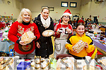 Peg and Caitriona Goggin (Causeway), MaryJoe Daly and Eimear Cotter, attending the Ardfert Christmas fair in the Community Centre on Sunday.
