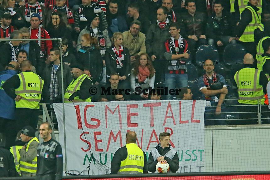 Fans der Frankfurter Eintracht) - Eintracht Frankfurt vs. Macabi Tel Aviv, Europa League 3. Spieltag