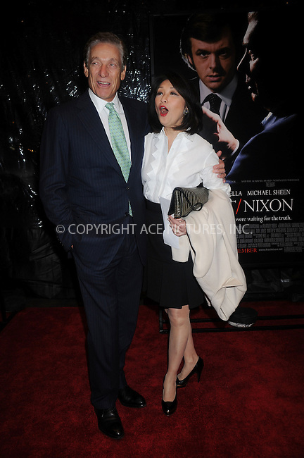 WWW.ACEPIXS.COM . . . . . ....November 17 2008, New York City....TV personalities Maury Povich and Connie Chung at the premiere of 'Frost/Nixon' at the Ziegfeld Theater on November 17, 2008 in New York City.....Please byline: KRISTIN CALLAHAN - ACEPIXS.COM.. . . . . . ..Ace Pictures, Inc:  ..(646) 769 0430..e-mail: info@acepixs.com..web: http://www.acepixs.com